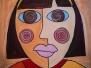 Pablo Picasso kubistiniai portretai