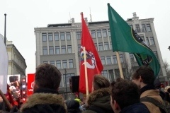 Vilniaus pagarsinimo dienos minėjimas prie Rotušės